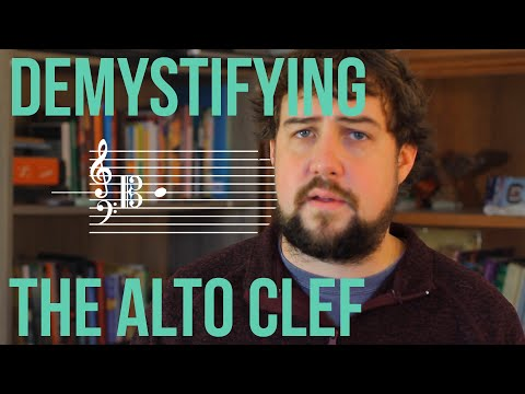 Demystifying the Alto Clef – TWO MINUTE MUSIC THEORY #55