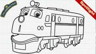 Chuggington - How to Draw Wilson from Chuggington -- Train Engine - Video