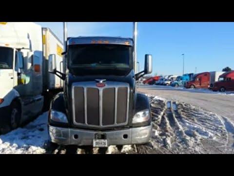 My new Peterbuilt 579 at TMC - YouTube - tmc trucking pay