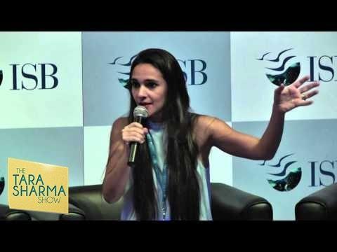 Tara Sharma - Mompreneurship | ISB Leadership Summit [2015]