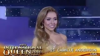 Camille Anderson - Highlights from Miss International Queen 2016 - Miss USA
