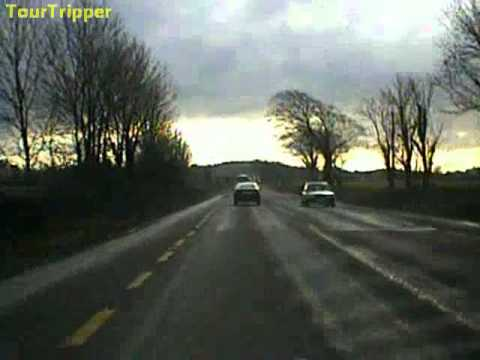 Road trip from Gort Co. Galway to Ennis co. Clare