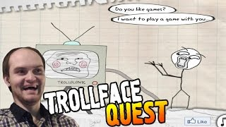 TrollFace Quest Прохождение ► ЗАТРАЛЕНО! ◄ ВЗРЫВ МОЗГА