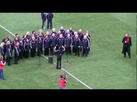 Brindisi before Munster v Leinster (Thomond Park, 31st March 2012).