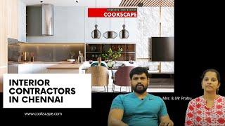 Interior Contractors In Chennai |  Best Interiors In Chennai - Cookscape #BestInteriors #homedecor