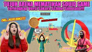 TUJUH ARENA MEMATIKAN SQUID GAME!! PERSIS BANGET KAYAK FILMNYA!! SAKURA SCHOOL SIMULATOR - PART 488 screenshot 4