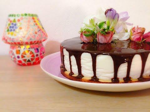 Йогуртовый торт с