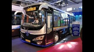 Goldstone Electric Bus now in india   interior view