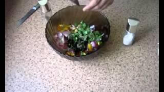 Хориатики, или Греческий салат видео рецепт UcookVideo.ru