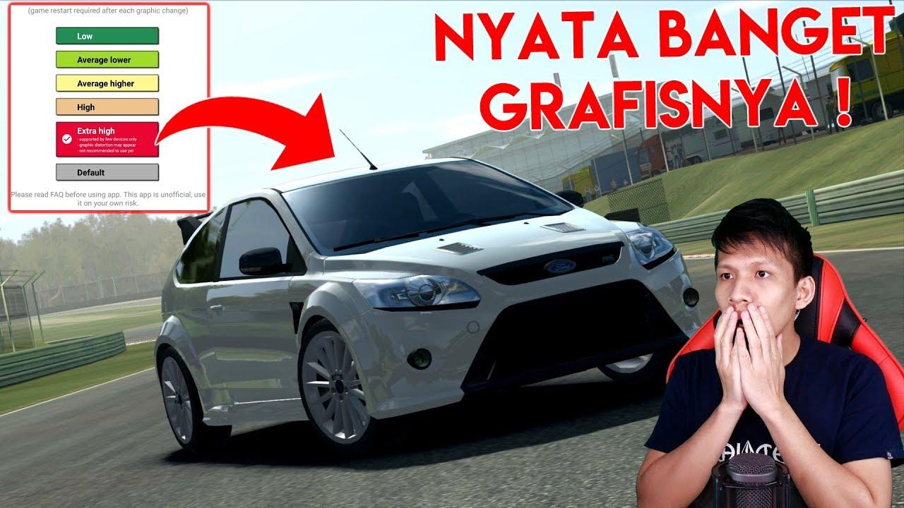 Ampun mobilnya jadi nyata banget pake grafis extra high real racing 3 indonesia