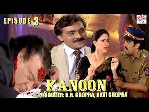 Kanoon || BR Chopra SuperHit Hindi TV Serial-KhudKhusi | Episode-3 | Popular Hindi Serial ||