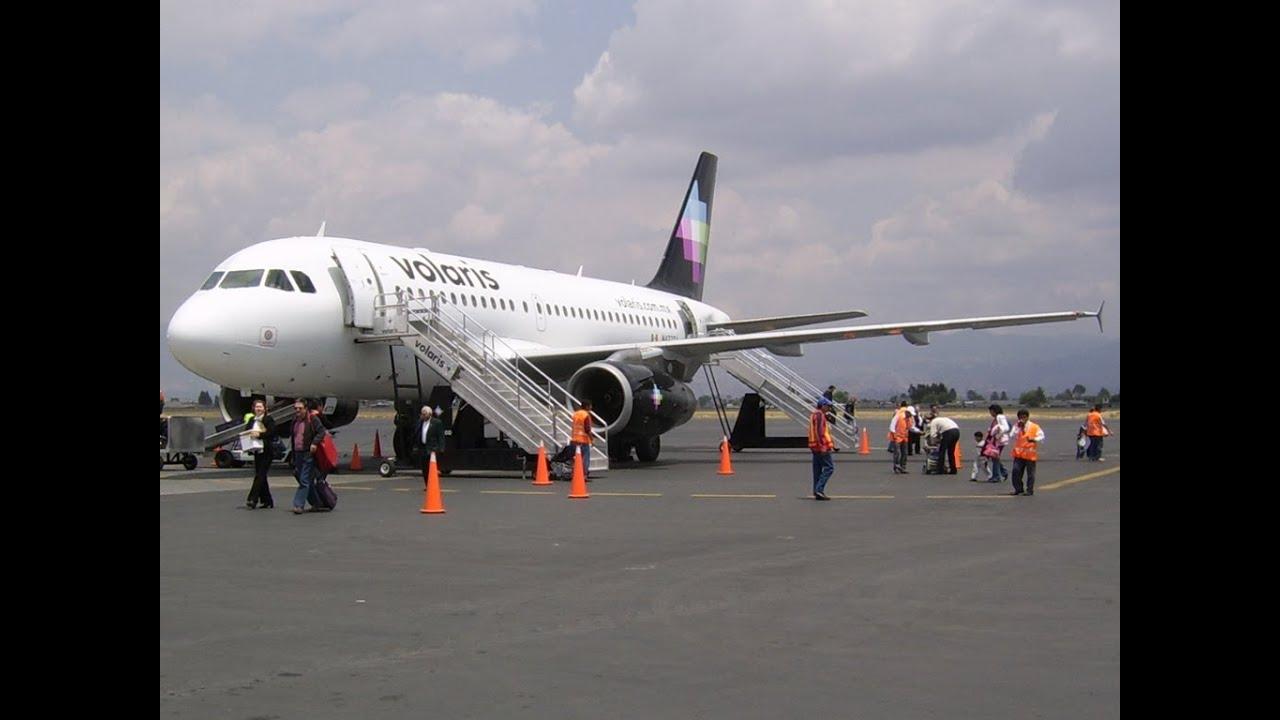 Volaris, Aterrizaje Volaris (Airbus A320) con mal clima ...