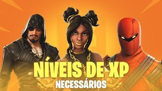 REQUIRED LEVELS FOR 8th SEASON SKINS-Fortnite Battle Royale
