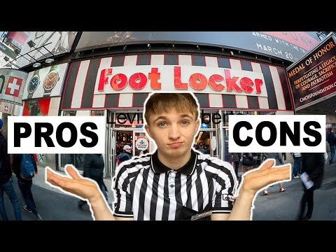 WORKING AT FOOTLOCKER: PRO's & CON's