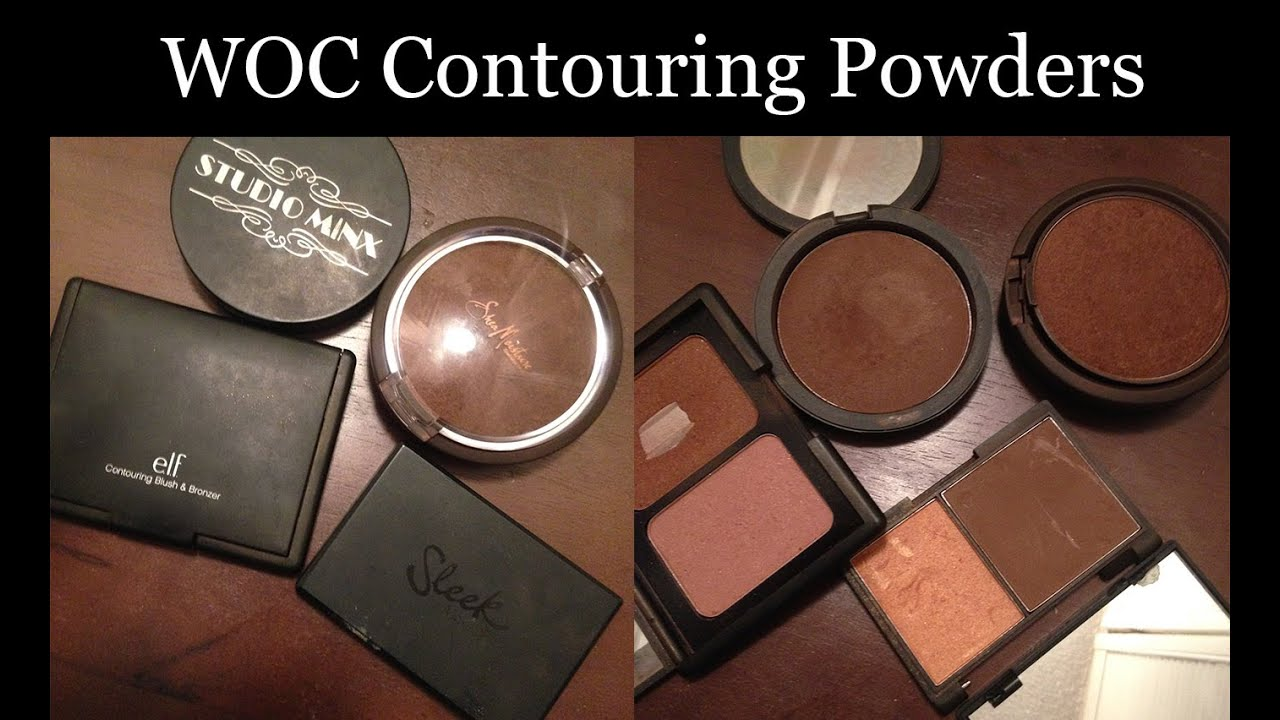 Best Contour Powders For Dark Brown Skin Woc Youtube