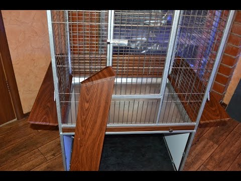 Делаем клетку вольер для попугаев (не отличишь от заводской). How to make your own bird cage.