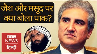 Pakistan's Foreign Minister Shah Mehmood Qureshi on Jaish, Masood Azhar and talks with India