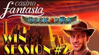 WIN| (2/3) Casino Fantasia Session- BOOK OF RA DELUXE auf $2 und $3