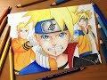 Speed Drawing - Naruto X Boruto Uzumaki (Boruto: Next Generation) [HD]