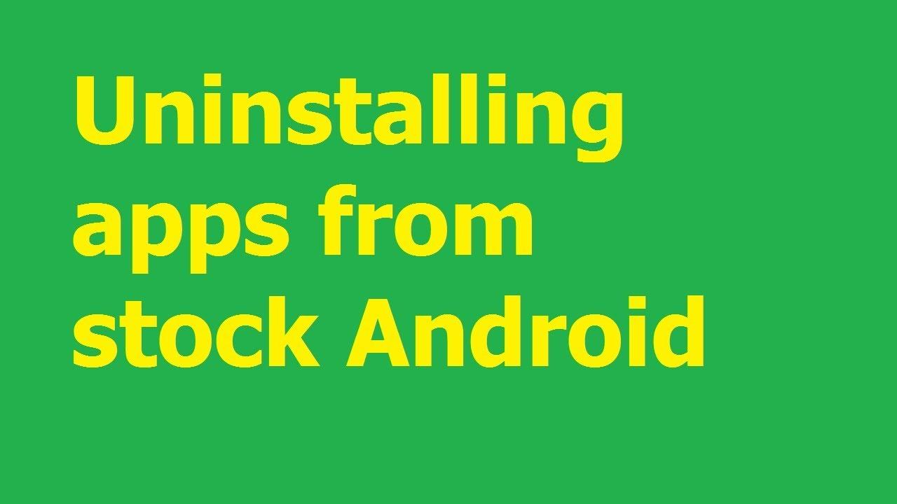 Xóa ứng dụng trên Android, gỡ bỏ chương trình bất kỳ trên điện thoại Android