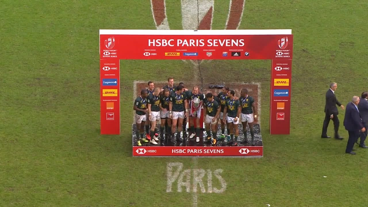 HIGHLIGHTS: South Africa win big in Paris to take world series