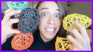 DIY Easter Yarn Egg Balls!