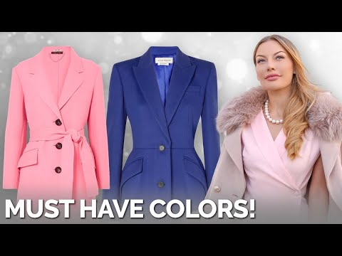 These Colors Will Make Your Winter Coat Look ELEGANT!