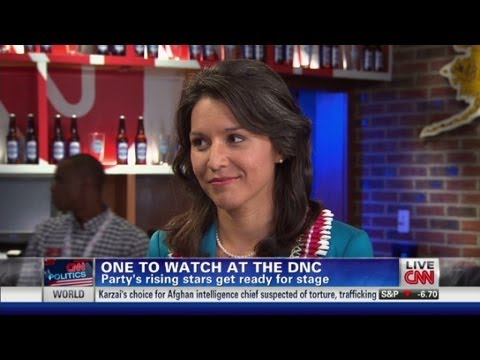 Tulsi Gabbard, one to watch at the DNC