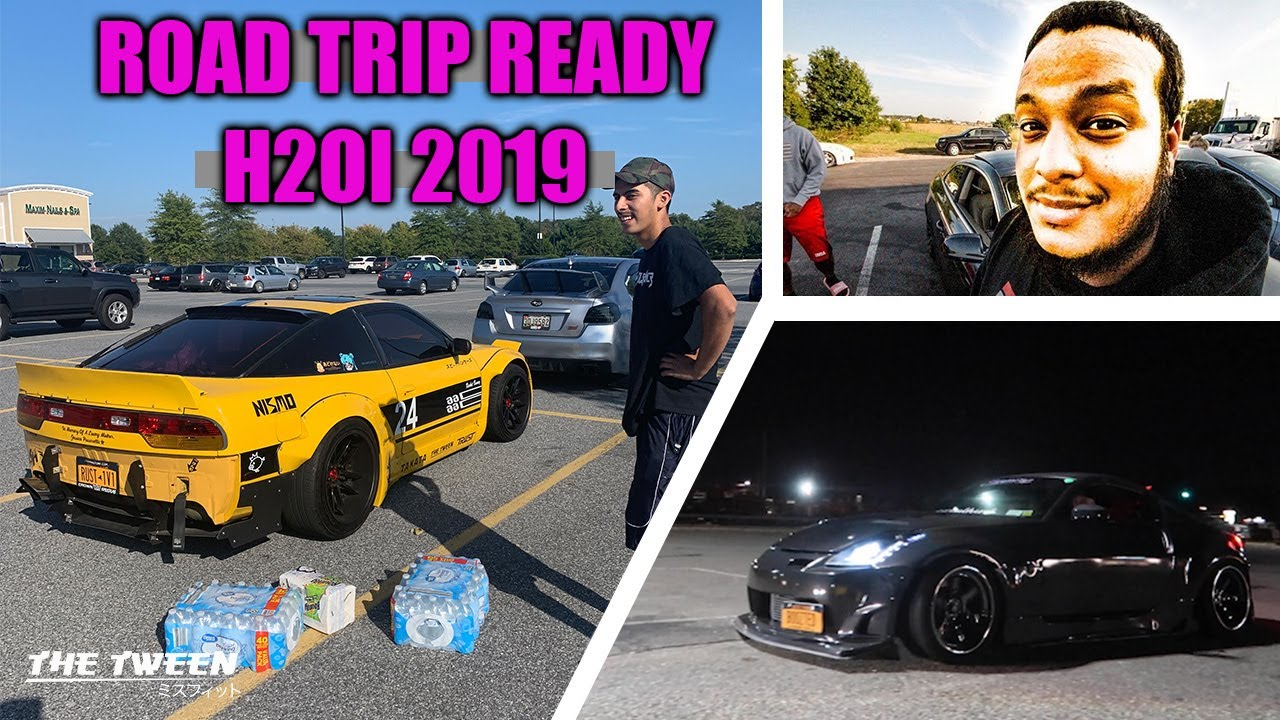 READY FOR OUR FAVORITE CAR EVENT - H2OI 2019