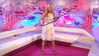 T4: Alyson Michalka hula hooping