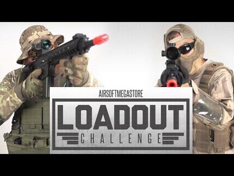 SR-25 Counter Sniper Loadout Challenge   Airsoftmegastore.com