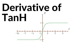Derivative of the Tanh Activation function | Deep Learning