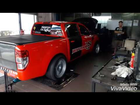 Unichip Ford Ranger T6 2JZ-GTE 420 Hp done