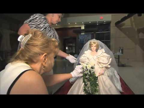 Princess Diana exhibit at Downtown Disney in Orlando
