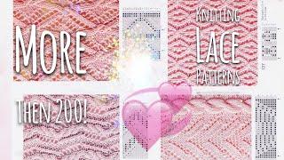 Ажурные УЗОРЫ СПИЦАМИ / Более 💥 200!!! 💥 СХЕМ с фото / Lace KNITTING PATTERNS