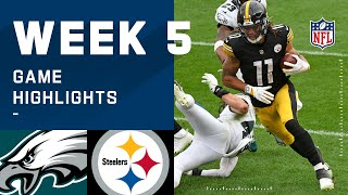Eagles vs. Steelers Week 5 Highlights | NFL 2020