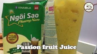 How To Make Passion fruit Juice | Milk Tea World
