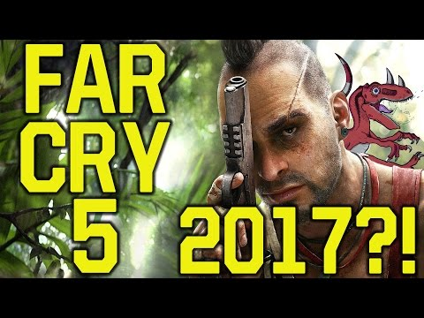 Far Cry 5 gameplay in 2017 WITH DINOSAURS?! (Far Cry 5 dinosaurs - Far Cry 5 Trailer - Far Cry 6)