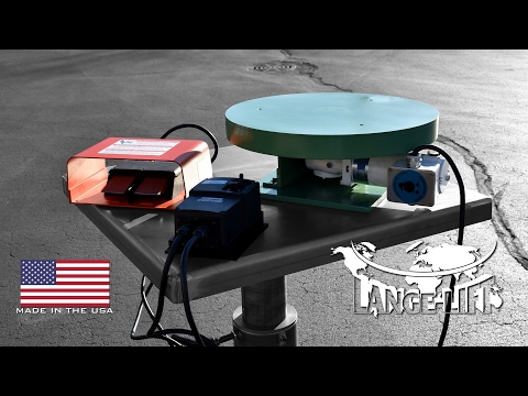 Water Resistant Variable Speed Turntable | 100 Pound Capacity