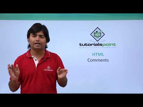 HTML - Comments