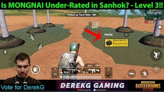Is MONGNAI an Under-Rated Quiet Location on Sanhok? | PUBG Mobile with DerekG
