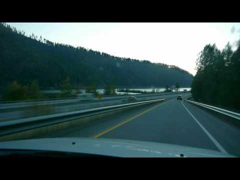 Dash Cam Road Trip - Lewiston ID to Cour d'Alene ID.