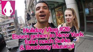 Lecker Essen gehen in New York - Holiday Vlog 26 - Alina privat | www.size-zero.de