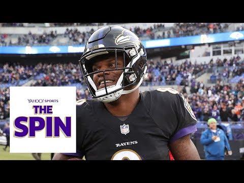Should Lamar Jackson be the Ravens' Starting QB? | The Spin NFL