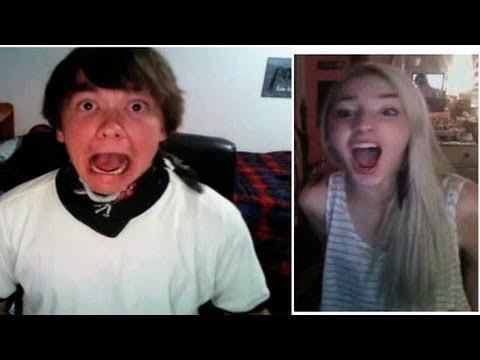 Making Friends with Strangers on Omegle!