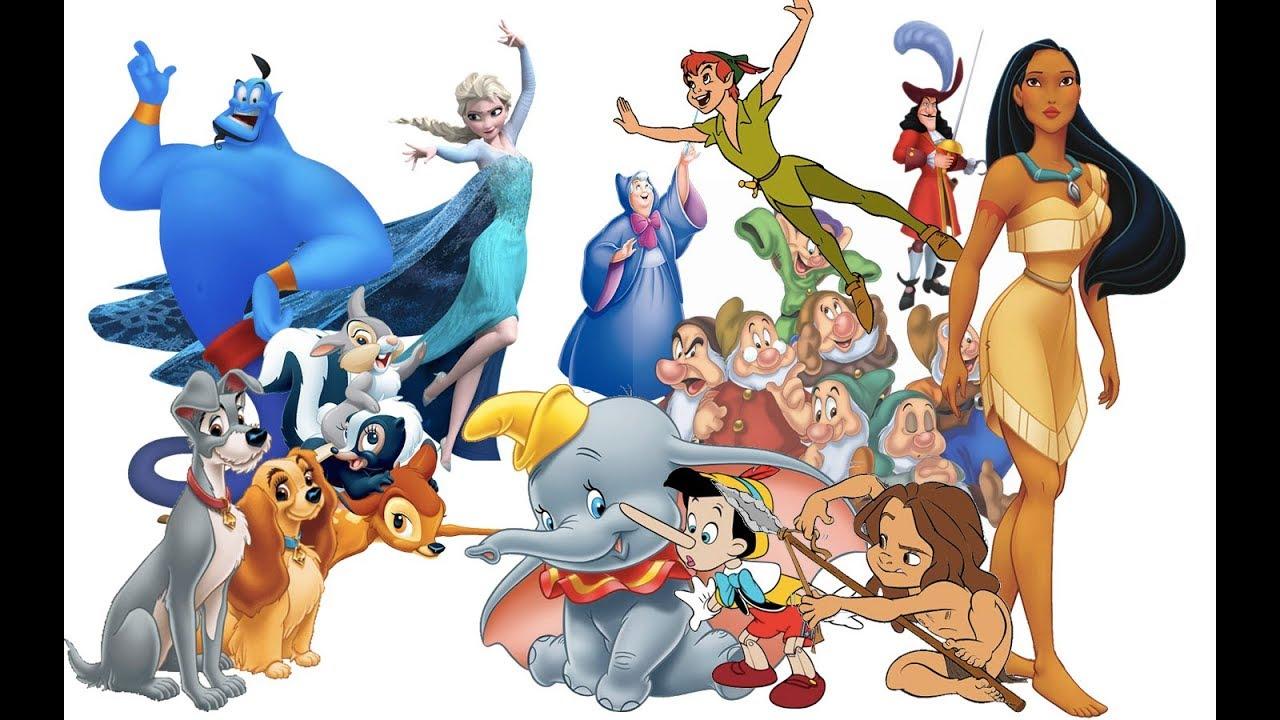 Personaggi Disney - Ludoteca Siracusa Disneylandia
