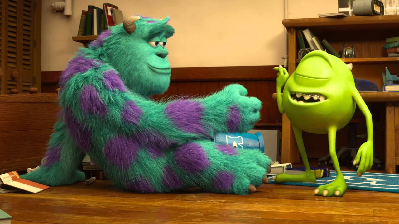monsters university mike and sulley meet joe