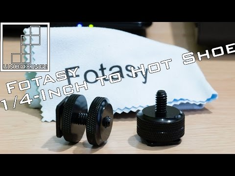 Unboxing: Fotasy SCX2 1/4-Inch to Hot Shoe Adapter
