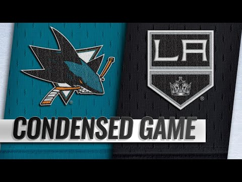 10/05/18 Condensed Game: Sharks @ Kings