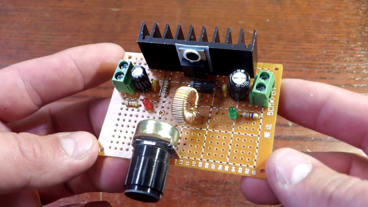 DC to DC | Buck Converter Base On LM2576
